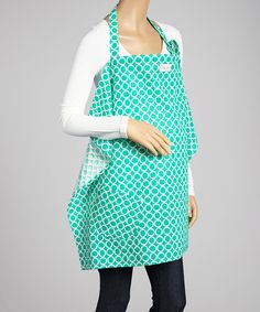 Love this Teal Time Organic Nursing Cover by Smitten Baby on #zulily! #zulilyfinds