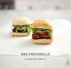 BBQ Portobello Mushroom Sliders | 26 Veggie Burgers That Will Make Meat Question Its Very Existence