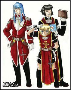 Three Inquisitors 2011 Trinity Blood