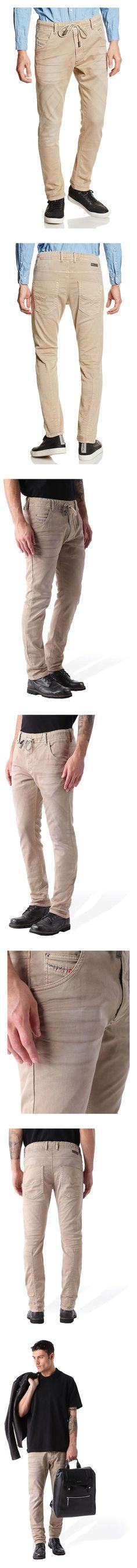 $278 - Diesel Krooley NE 0670M Beige Joggjeans #jeans #