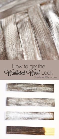 Cool Woodworking Tips - Get The Weathered Wood Look - Easy Woodworking Ideas, Woodworking Tips and Tricks, Woodworking Tips For Beginners, Basic Guide For Woodworking - Refinishing Wood, Sanding and Staining, Cleaning Wood and Upcycling Pallets - Tips for Wooden Craft Projects http://diyjoy.com/diy-woodworking-ideas #CoolBeginnerWoodworkingProjects #woodworkingtips #woodworkingideas