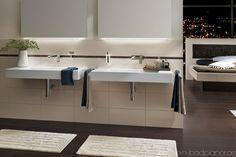 Beleuchtung + Waschbecken