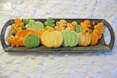 tray of pumpkins and leaves copy | by Cookie Bliss (Laurie)