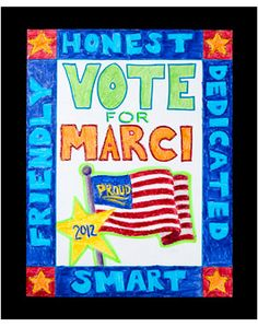 campaign posters Run for Office! Not a completely laid out lesson plan but GREAT election lesson ideas! School Campaign Ideas, School Campaign Posters, Campaign Slogans, School Posters, Slogans For Student Council, Student Council Campaign, Presidential Posters, School Slogans, Fundraising Games