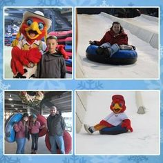 Chesapeake Energy Snow Tubing Oklahoma City, OK #Kids #Events