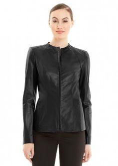 Tissue Weight Lambskin Yelena Jacket