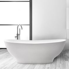 The Melbourne bathtub, just like the city, brings a dynamic energy to any bathroom. Elegant yet creative, it truly stands out. What a beauty. Geometric Lines, Modern Luxury, Basin, Melbourne, Bathtub, Contemporary, Bathroom, Elegant, City