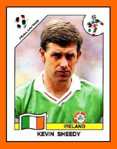 Memory lane: The Panini sticker collection of Ireland's Italia 90 squad Football Stickers, Football Cards, Football Players, Baseball Cards, Liverpool, Uefa Football, America Album, Jack Charlton, Sir Alex Ferguson