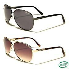 New Black Aviator Vintage Retro Mens Ladies Unisex Oxigen Sunglasses UV400 OX5