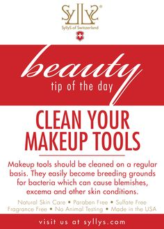 wash your tools!