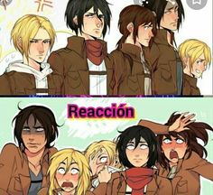 ymir x historia / ymir ymir x christa ymir x historia ymir and christa ymir aot ymir fanart ymir attack on titan ymir icon Attack On Titan Comic, Attack On Titan Ships, Attack On Titan Fanart, Attack Titan, Ymir, Ereri, Desenhos Cartoon Network, Hxh Characters, Attack On Titan Aesthetic