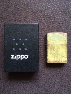 Original Zippo: Standard Chrome Custom Made: A kind of Rust