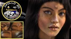 """""""Mona Lisa"""" - The humanoid Alien found by Apollo 20. While officially NASA stopped its Apollo program with Apollo 17, many researchers claim that NASA continued this program in secrecy. The reason was simple: Aliens on the Moon. The official NASA story about why the program was shut down was: Budget Cuts, relocation of funds and other reasons that did"""