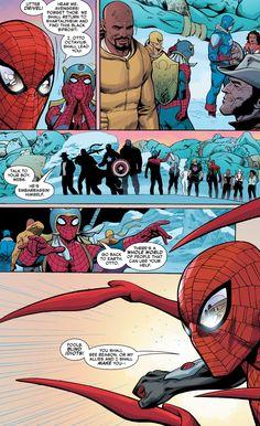 Parker Spiderman, Spiderman Art, Spectacular Spider Man, Amazing Spider, Marvel Heroes, Marvel Avengers, Hybrid Marvel, The Superior Spider Man, Comic Art