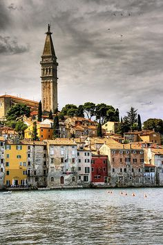 Rovinj Croatia. Our tips for 25 Places to See in Croatia: http://www.europealacarte.co.uk/blog/2012/01/05/what-to-do-in-croatia/