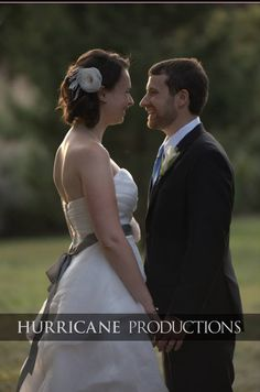 Nothing more beautiful than a happy bride and groom enjoying each other right after their ceremony.