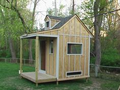 This is great... another shed coop that I am just loving! I like the porch and how you can walk into it. All you have to too is add a chicken door and an outdoor area.