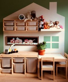 - 35 Ikea hacks for the inf . - - 35 Ikea hacks for the inf .,- - 35 Ikea hacks for the inf . Ikea Playroom, Small Playroom, Playroom Organization, Playroom Design, Children Playroom, Organization Ideas, Kids Playroom Storage, Ikea Kids Room, Ikea Wall