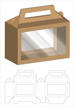 Discover thousands of Premium vectors availables in AI and EPS formats. Diy Gift Box, Diy Box, Food Packaging Design, Box Packaging, Paper Toys, Paper Crafts, Paper Box Template, Box Patterns, Box Design