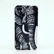 Elephant Pattern Hard Case  for iPhone 4/4s – USD $ 2.99