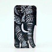 Patrón de elefante dura del caso para el iPho... – USD $ 2.99