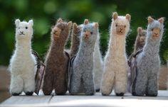 Kuscheltiere - Alpaka Stofftier 100% Alpaka - ein Designerstück von Abolengo bei DaWanda