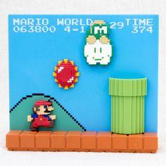 Super Mario Bros. Stage Figure 4-3 Nintendo Dotgraphics JAPAN NES FAMICOM 2