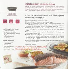 Recette repas noel tupperware