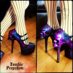 Hey, I found this really awesome Etsy listing at https://www.etsy.com/listing/218264585/skull-purgatory-pump-heels