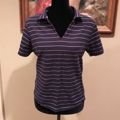 """⛵️ PULLOVER  * Fresh & comfortable pullover * soft cotton blend * armpit to armpit 20"""" across * length 16"""" * like most TH, this is true-to-size * pulls look fabulous with some crisp, white capris  Tommy Hilfiger Tops"""