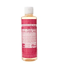 Image 1 ofDr. Bronner Organic Rose Castile Liquid Soap 236ml
