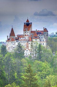 Bran Castle in Transylvania, Romania (Castle of Dracula)