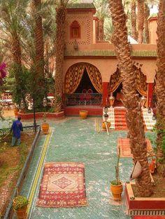 Palace Asma. Zagora, Morocco