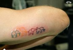 I would like an elephant tat so for it to have meaning behind it!