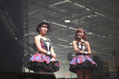 Japan Expo 15th Anniversary:Berryz Kobo x °C-ute in Hello! Project Festival ! / ℃-ute - 岡井千聖 Chisato Okai、萩原舞 Mai Hagiwara