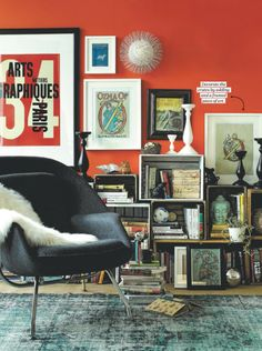 Books are a beautiful thing, whether we're reading them or just enjoying their beauty artfully displayed in our homes.