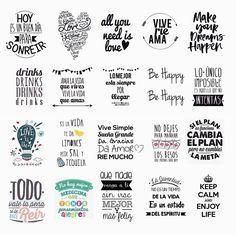 68 Mejores Imágenes De Frases Para Frascos Frases Para
