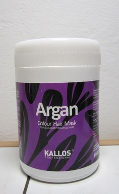 Argan hair mask for colored hair from Kallos. A very good, budget friendly hair mask. Go ahead and read my opinion about it.