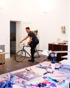 Peter Rigaud ℅ Shotview Photographers | Olaf Hajek for Swatch Magazine 2014