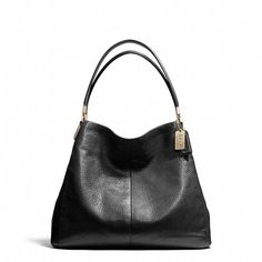 Coach Madison Small Shoulder Bag - such a perfect everyday bag to go day to night, too. Love the shape!