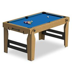 BCE BCE Ft Folding Pool Table Pool Tables Youth Pinterest - Fold out pool table