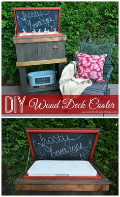 Pallet Cooler - Pallet Ice Chest - Pallet Furniture Ideas with 25 Complete DIY Projects - Page 3 of 3 - I Heart Crafty