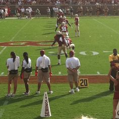 I will be on these sidelines one day!!!