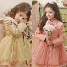 2013 Fashion fall pearl  Elegant princess sweet girl child kids dress  Baby Tulle Lace Dress Christmas gift $21.99