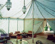 Luxury tent on the beach