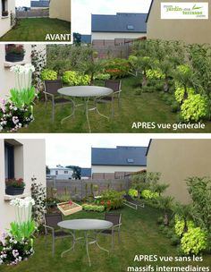 Jardin on pinterest grass paths and gardens for Amenager mon jardin