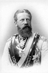 Kaiser Frederick III   (1831-1888-1888)  Husband to Princess Victoria, father of Wilhelm II