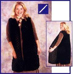 Image of Latticework Vest- beginner pattern