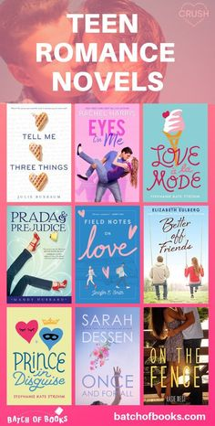 So many cute romance books for teens! Romance books for young adults. Romance books to read. Contemporary romance novels for teenagers. Clean romance novels for teens. Romantic Books For Teens, Best Romantic Books, Teen Romance Books, Best Romance Novels, Romantic Novels To Read, Teenage Books To Read, Books To Read In Your Teens, Best Books To Read, Best Teen Books
