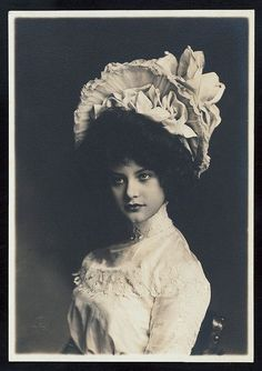 Elsie Ferguson, American Stage and Screen Actress.
